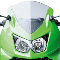 Kawasaki Ninja 250R Head Light View