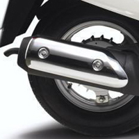 Mahindra Duro Silencer View