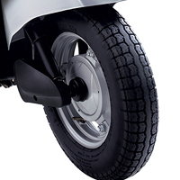 Mahindra Duro wheels and tyre view Picture