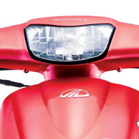 Mahindra Kine Head Light View