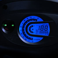 Mahindra Rodeo speedometer view Picture