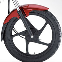 Mahindra Stallio disk brake view Picture