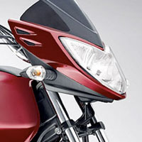 Mahindra Stallio Head Light View
