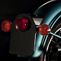 Royal Enfield Bullet Classic Back Light View