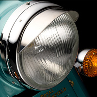 Royal Enfield Bullet Classic Head Light View