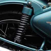 Royal Enfield Bullet Classic Shocker View