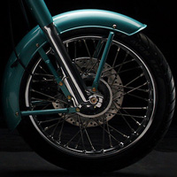 Royal Enfield Bullet Classic Wheels And Tyre View