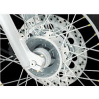 Royal Enfield Bullet Electra 5S Disk Brake View