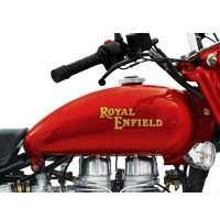 Royal Enfield Bullet Electra 5S Oil Tank View