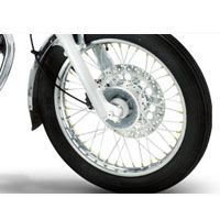 Royal Enfield Bullet Electra 5S Wheels And Tyre View