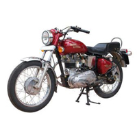 Royal Enfield Bullet Electra Front Cross Side View