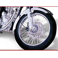 Royal Enfield Bullet Machismo 500 \wheels And Tyre View