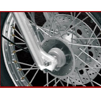 Royal Enfield Bullet Machismo 500 Disk Brake View