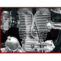 Royal Enfield Bullet Machismo 500 Engine View