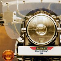 Royal Enfield Bullet Machismo 500 Head Light View