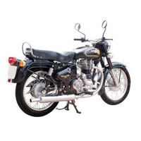 Royal Enfield Bullet350 Rear Cross Side View