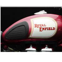 Royal Enfield Classic 350 Oil Tank View
