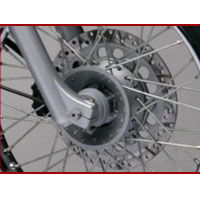 Royal Enfield Thunderbird TwinSpark disk brake view Picture