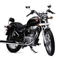 Royal Enfield Thunderbird TwinSpark Front Cross Side View