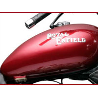 Royal Enfield Thunderbird TwinSpark oil tank view Picture