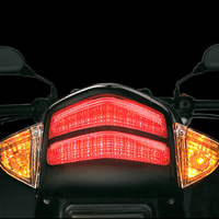 Suzuki GS150R Back Light View