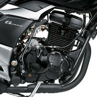 Suzuki GS150R engine view Picture