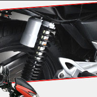 Suzuki GS150R shocker view Picture