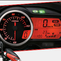 Suzuki GS150R speedometer view Picture
