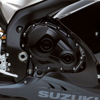 Suzuki GSX-R1000 Engine View