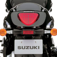 Suzuki Intruder M1800R  Back Light View