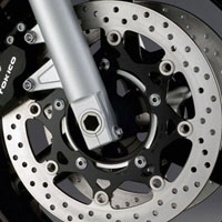 Suzuki Intruder M1800R  disk brake view Picture