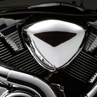 Suzuki Intruder M1800R  Engine View