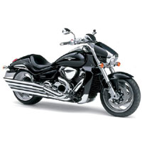 Suzuki Intruder M1800R  Front Cross Side View