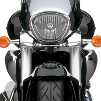 Suzuki Intruder M1800R  Head Light View