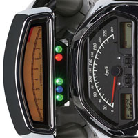 Suzuki Intruder M1800R  Speedometer View