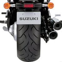 Suzuki Intruder M1800R  Wheel Base View