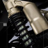 TVS Apache RTR 160 shocker view Picture