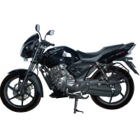 TVS Apache RTR 180 Left View