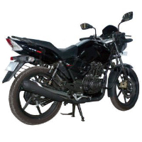 TVS Apache RTR 180 Rear Cross Side View