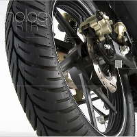 TVS Apache RTR 180 Wheels And Tyre View