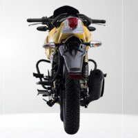 TVS Apache RTR160 Kick Start Back View
