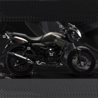 TVS Apache RTR160 Kick Start Different Colour View 2