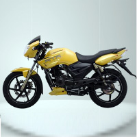 TVS Apache RTR160 Kick Start Left View