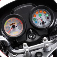 TVS Jive Speedometer View