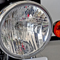 TVS Max 4R Head Light View