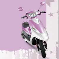 TVS Scooty Pep+ Different Colour View 1