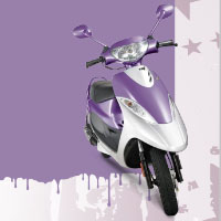 TVS Scooty Pep+ Different Colour View 3