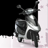 TVS Scooty Pep+ Different Colour View 4