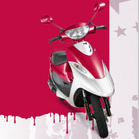 TVS Scooty Pep+ Different Colour View 5