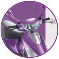 TVS Scooty Pep+ Head Light View